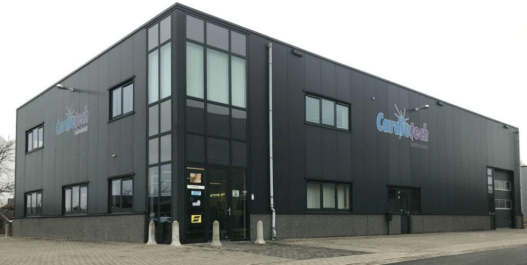 Pand Cardietech Lastechniek - EWM & ESAB dealer, service center Oost Nederland