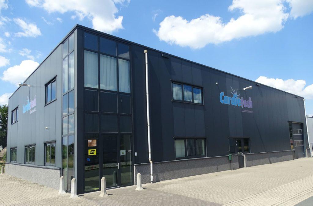Bedrijfsgebouw Cardietech Lastechniek - EWM & ESAB dealer, service center Oost Nederland